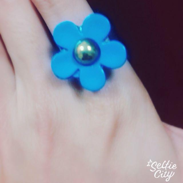 [免運]花朵造型戒