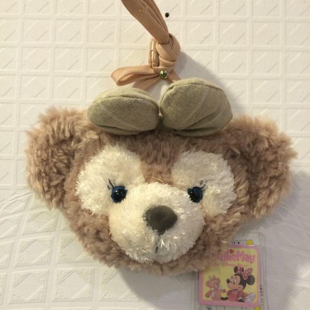 (全新)購於日本迪士尼 雪莉梅 頭像包