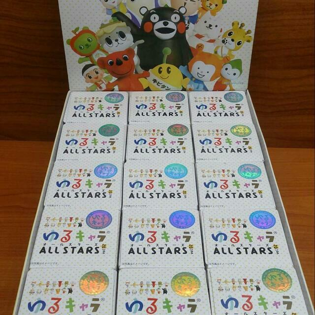【免運】日本地區吉祥物公仔盒玩 扭蛋 熊本熊 絕版