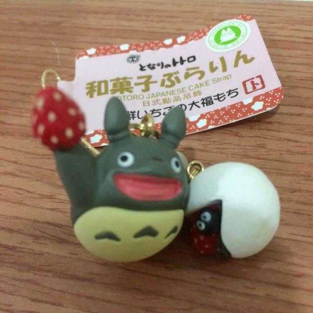 🎉含運 日本帶回龍貓吊飾-和菓子系列🍓附提袋 (宮崎駿 吉卜力)