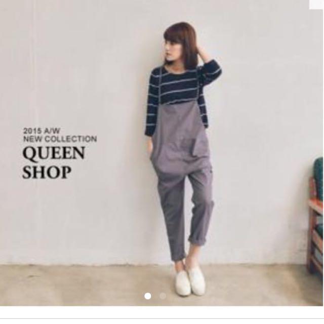 收 Queen Shop吊帶褲