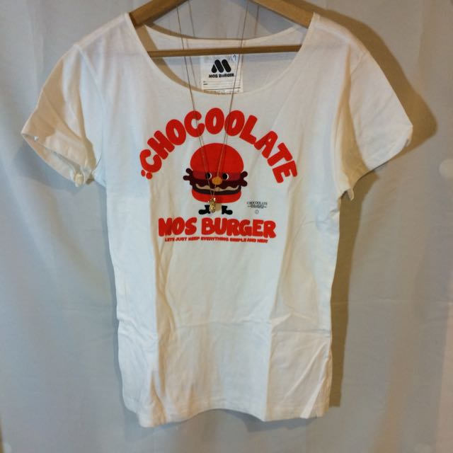 Chocoolate X Mos Burger 聯名T 穴 - 情侶款