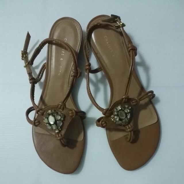 小ck涼鞋