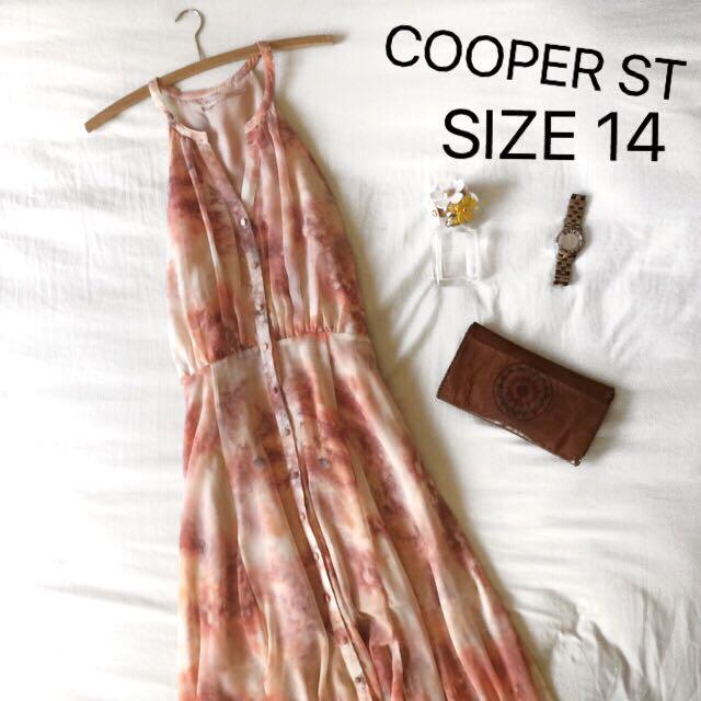 Cooper St Floral Dress