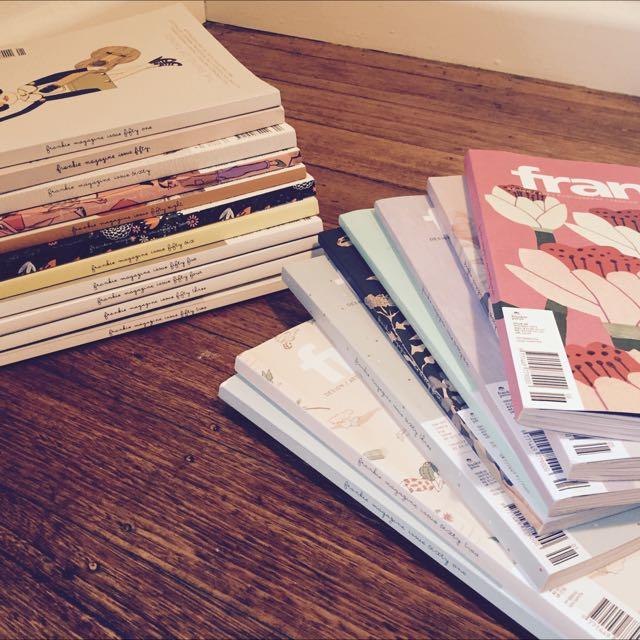 Frankie Magazines x19 Includes Postage