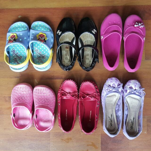 Girl Shoes From Age 3-5 Years Old
