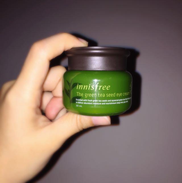 降💥Innisfree 綠茶籽潤澤保濕眼霜 9.8成新