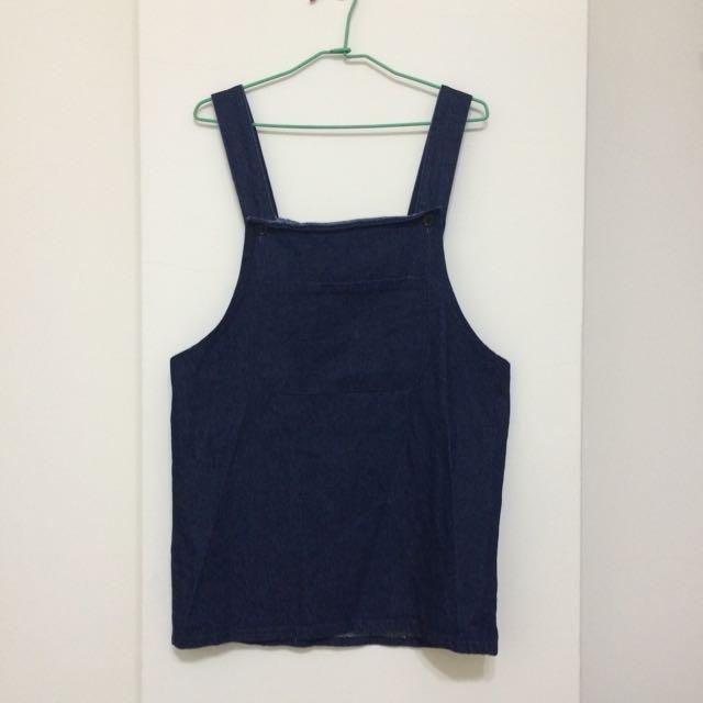 深藍吊帶裙joyce shop購入