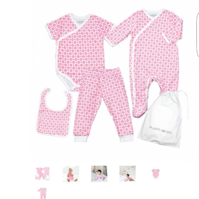 Lepetit Society baby Girl Romper Set