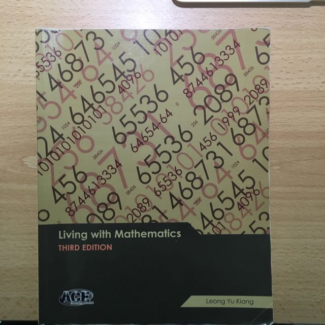 Living With Mathematics, Books & Stationery, Textbooks on