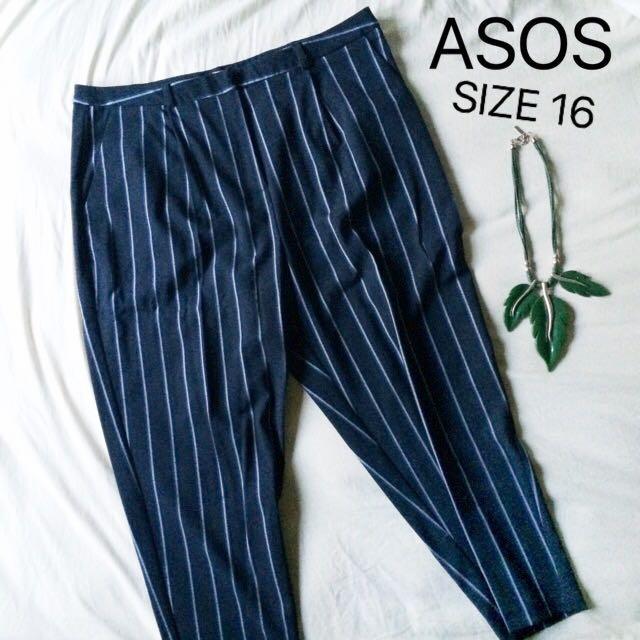 Peg Trouser in stripe