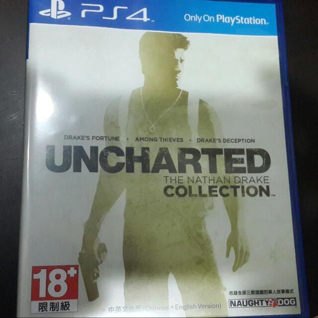 PS4 祕境探險1-3合集 中文版