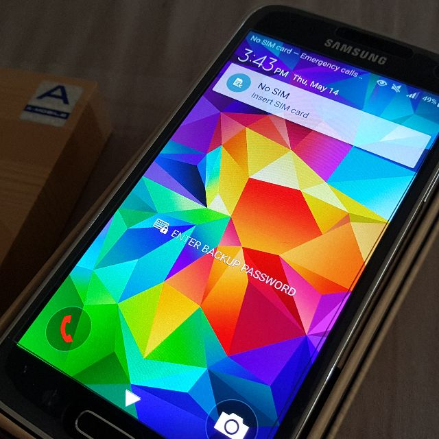 Samsung Galaxy S5 32GB Black