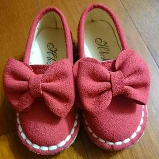 寶寶可愛朵結娃娃鞋22碼