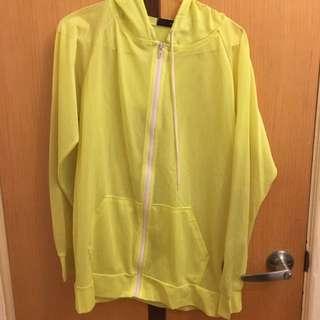 螢光網狀外套