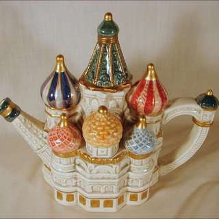 St cathedral fritz and floyd teapot