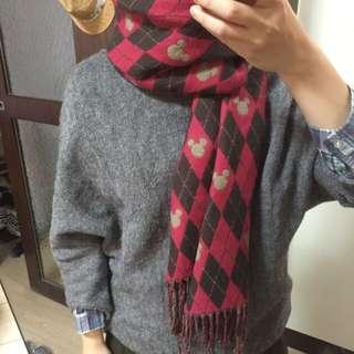 東京迪士尼米奇圍巾(待匯款)