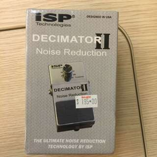 ISP DECIMATOR 2 Noise Reduction