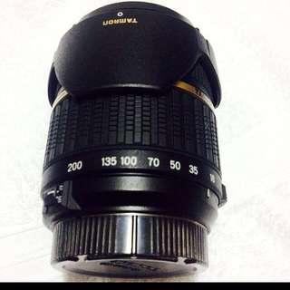 Tamron Af 18-200 XR Aspherical IF Macro Lens w/ Built In motor for Nikon Mount