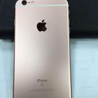 iPhone 6s Plus 64g 玫瑰金  無刮傷無摔機可貼換
