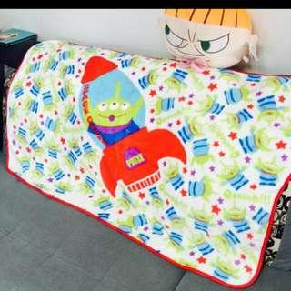 三眼怪 毛毯 冬天新款 空調毯 午睡毯 阿三 法蘭絨