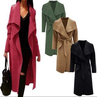 INSTOCK | Long Coat Size L (BNWT)