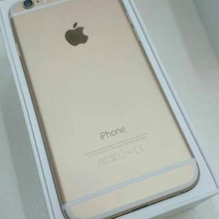 Mint Iphone 6 128GB Gold