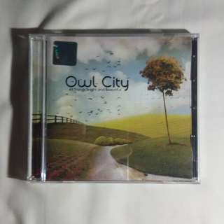 Owl City - All Things Bright and Beautiful, Album, Music, CD