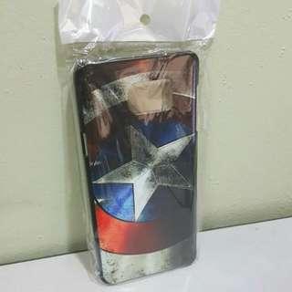 Samsung Galaxy Note 5 - Captain America Shield Design Back Cover Case