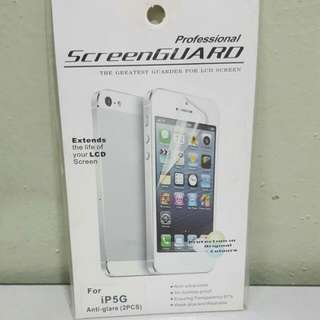 Matte Anti-glare Screen Protector For iPhone 5
