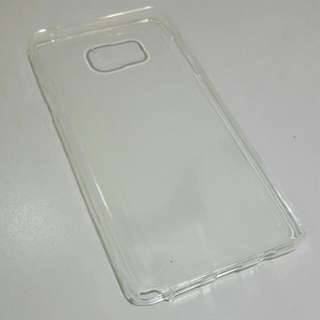 Ultra-thin Clear Silicon TPU Soft Cover Case For Samsung Note 5