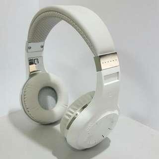 Preloved Genuine Bluedio Hurricane H-Turbine Bluetooth 4.1 Wireless Headphone White