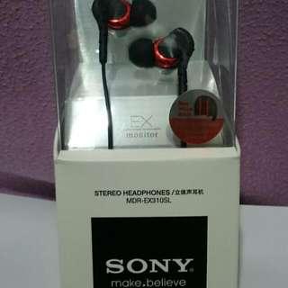 Sony MDR-EX310SL(新)