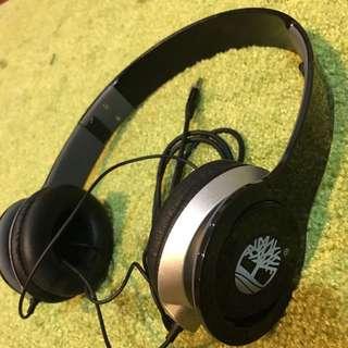 二手 九成新 Timberland 耳罩式耳機 黑色