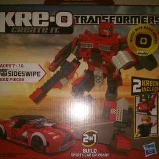 Misb Kre-o Transformers Sideswipe