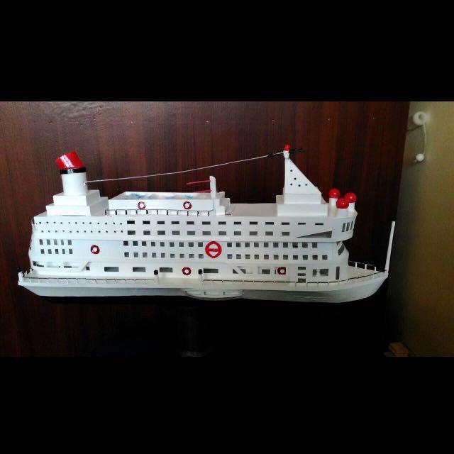 手工船 模型