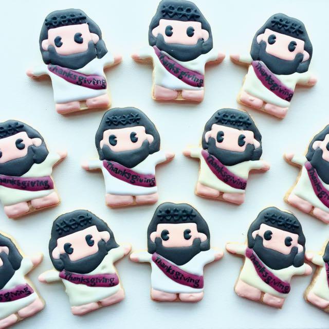 Vivi's Savory Sweets 聖誕節系列 客製化糖霜餅乾 (訂做客製化小禮物、收涎餅乾、婚禮小物)