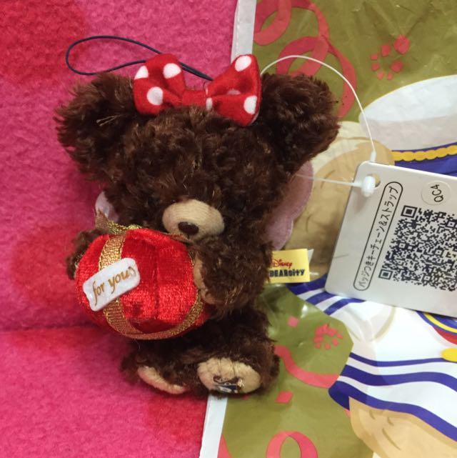 日本迪士尼限定unibearsity大熊學校聖誕限定送禮物小天使
