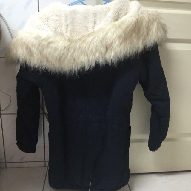 毛蓬禦寒外套