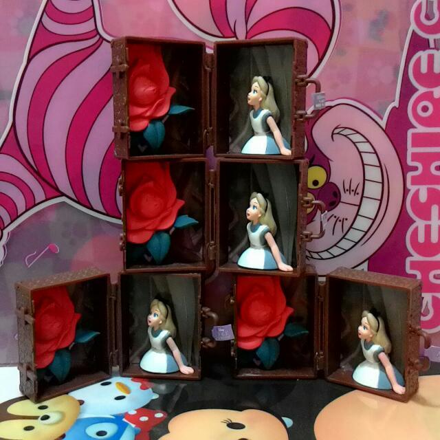 迪士尼,愛麗絲行李箱,全新蛋紙
