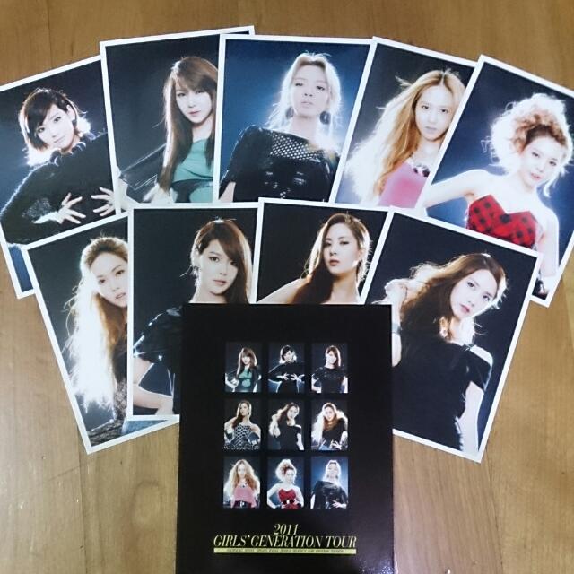 少女時代 2011 演唱會 明信片組
