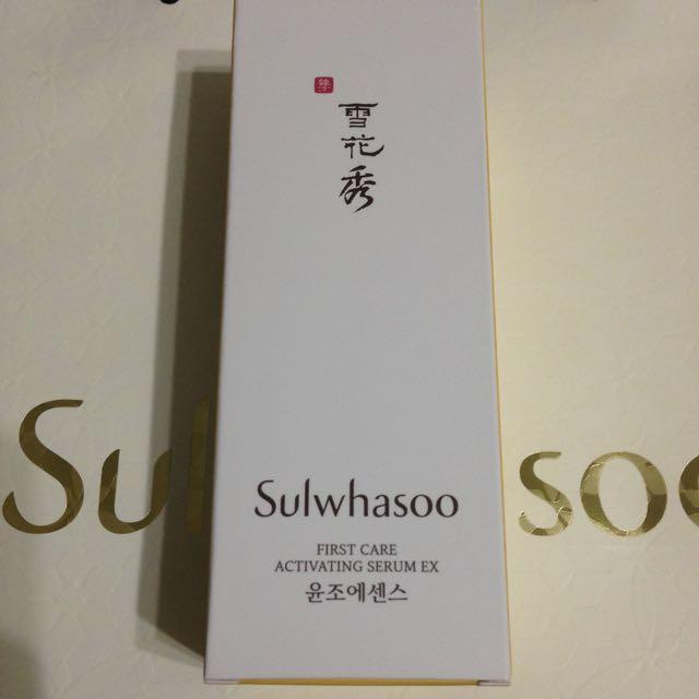 雪花秀 Sulwhasoo 潤燥精華EX 60ml 2015新版 現貨