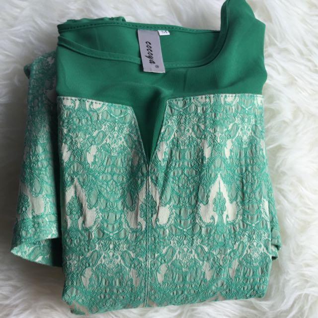 Cocoya dress in green
