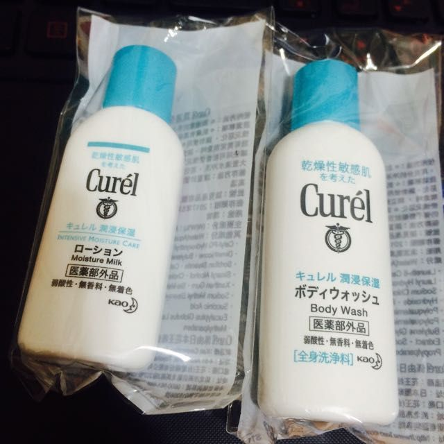 CUREL 珂潤 浸潤保濕沐浴乳+身體乳液