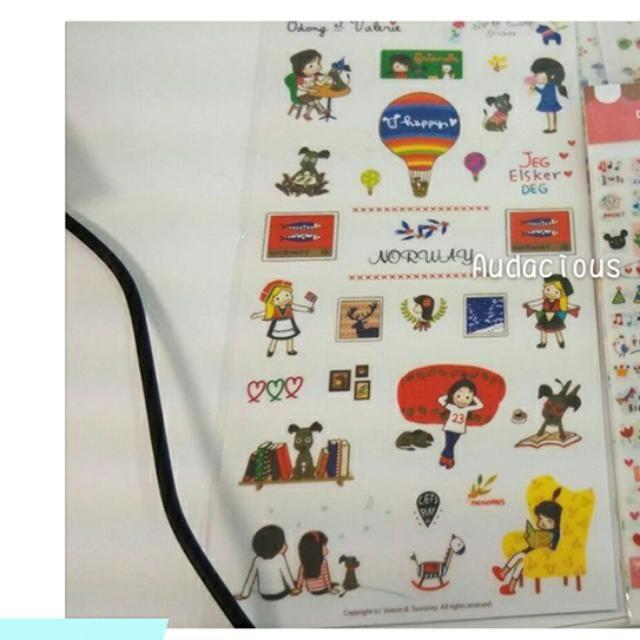 Deco Stickers (6 Pcs)