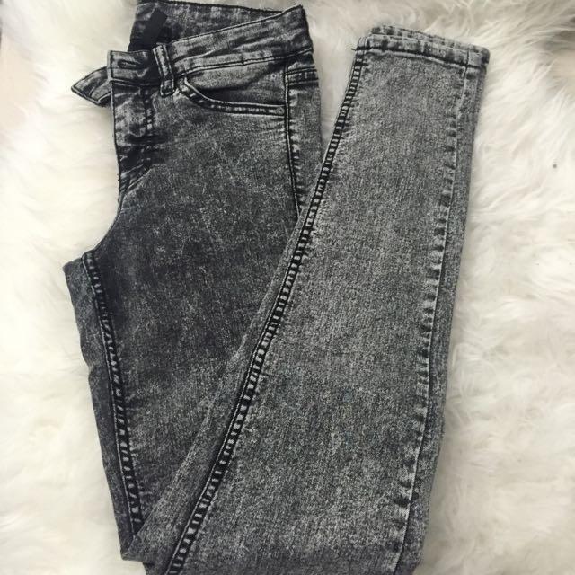H&M Acid Wash Pants