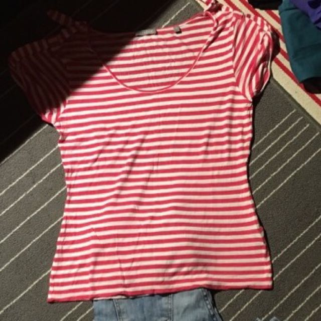 Jeans And Women Top(red Straps) Just For $10 /ted Banker Top And Skirt Just For $20 / Topshop Dress Just $10