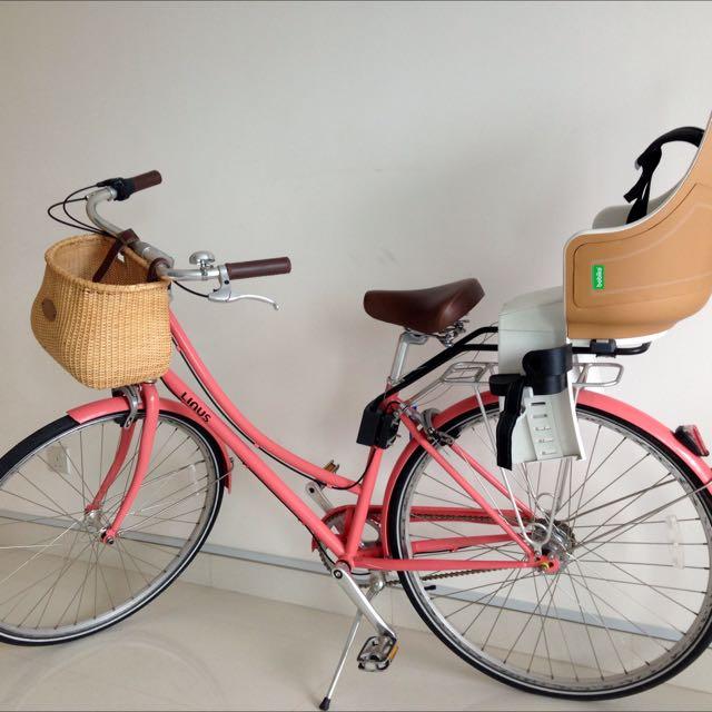3f013ff4f2c Linus bike - Dutchi 3 + child seat, Sports on Carousell