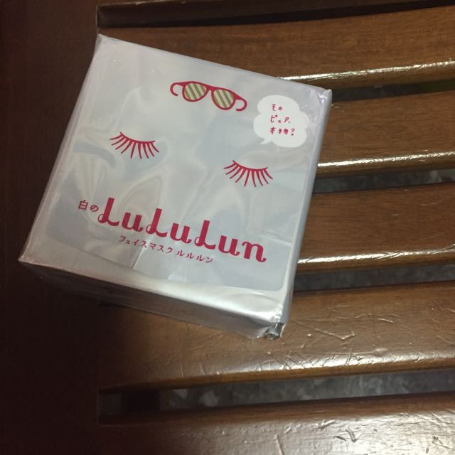 (保留中)Lululun光澤亮麗透明感面膜