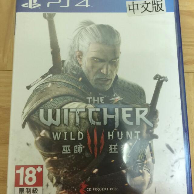 (暫售)PS4巫師